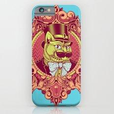 Hipster Mustache Cat Slim Case iPhone 6s