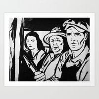 The Grapes of Wrath Art Print