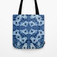 Vintage Rosas Indigas Tote Bag