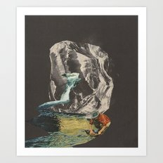 upstream Art Print