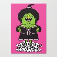Boobies Trap Canvas Print