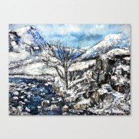 Glencoe snows Canvas Print