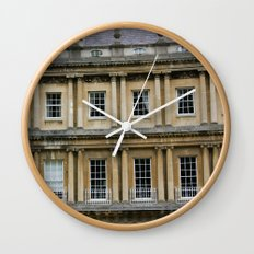The Crescent, Bath Wall Clock