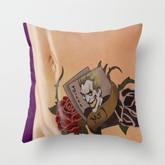 Mr. J Throw Pillow