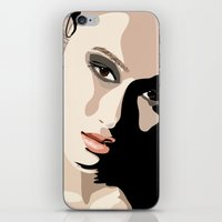 Eye Catcher iPhone & iPod Skin
