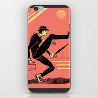 Silly Walk iPhone & iPod Skin