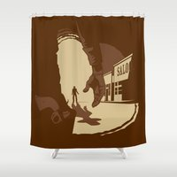 Showdown Shower Curtain