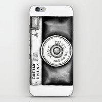 Lomo Smena 8M Russian Camera iPhone & iPod Skin