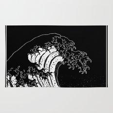 Hokusai, the Great Wave Rug