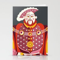 King Henry VIII of England Stationery Cards