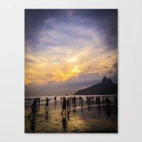 Summer Times Canvas Print