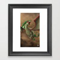 Sandstorm! Framed Art Print