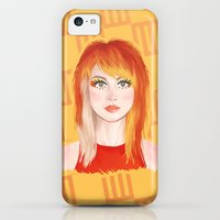 iPhone 5c Cases featuring Hayley #2 by attkcherry