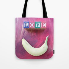 LOVE-B-SMILE-1 Tote Bag