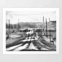 One Road Home, Canandaigua Art Print
