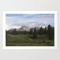 Molas Lake Art Print