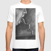 The Claim On Freedom Mens Fitted Tee White SMALL