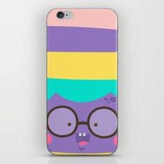 Purple Smile iPhone & iPod Skin
