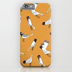 Bird Print - Orange Slim Case iPhone 6s
