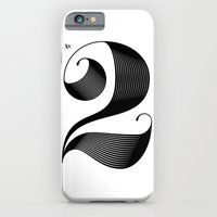 iPhone Cases featuring No. 2 by Jude Landry