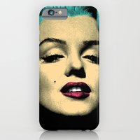 MARILYN BLUE iPhone 6 Slim Case