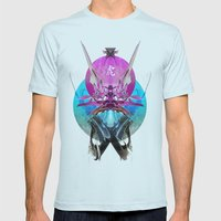 Ronin Mens Fitted Tee Light Blue SMALL