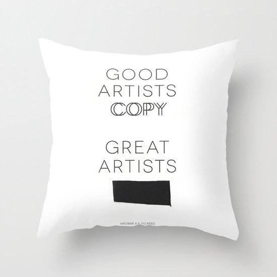 Steal Throw Pillow