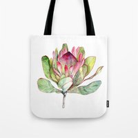 Protea Flower Tote Bag