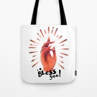 Bless you Tote Bag