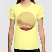 Planet 110011 Womens Fitted Tee Lemon SMALL