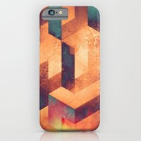 iPhone & iPod Case featuring byrnyng by Spires