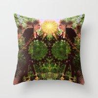 prism  Throw Pillow