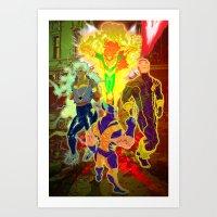 Uncanny X-Men Art Print