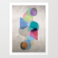 Art Print featuring Graphic 100 by Mareike Böhmer Grap…
