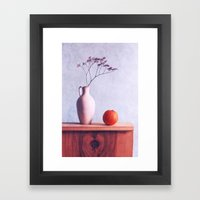 beautiful things Framed Art Print
