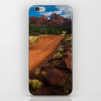 Red Desert Day iPhone & iPod Skin