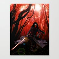Kylo Ren - The Force Awa… Canvas Print