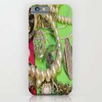 iPhone & iPod Case featuring Glam by Sir Harvey Fitz