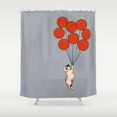 I Believe I Can Fly Shower Curtain