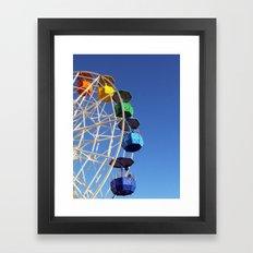 Fun Fair Framed Art Print