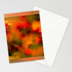 Cosmic clouds in 3D Cube Stationery Cards