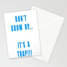 IT'S A TRAP!!! Stationery Cards