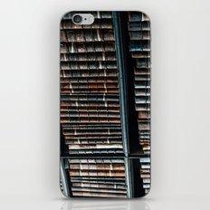 bibliotheque iPhone & iPod Skin
