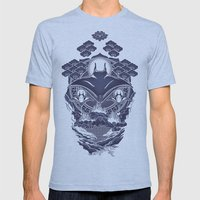 Mantra Ray Mens Fitted Tee Athletic Blue SMALL
