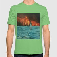 untitled Mens Fitted Tee Grass SMALL