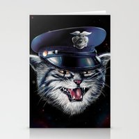 Police Cat Stationery Cards