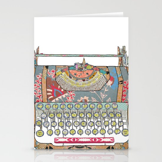 I DON'T KNOW WHAT TO WRITE YOU Stationery Card