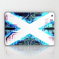 circuit board scotland (Flag) Laptop & iPad Skin