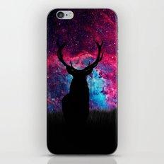 Deer Galaxy iPhone & iPod Skin