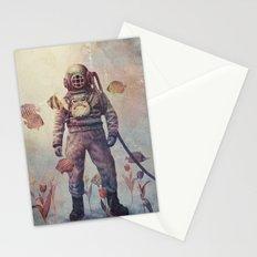 Deep Sea Garden - colour option Stationery Cards